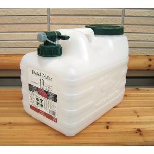 ウォータータンク 12L コック付き水缶 56329 / ポリタンク ポリ容器|gardenmate