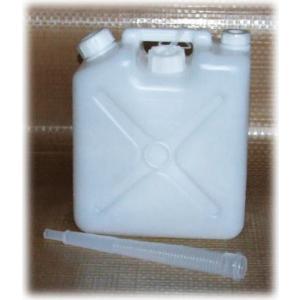 飲料水専用タンク ノズル付水缶 5L / ポリタンク ポリ容器 56341|gardenmate