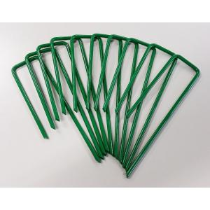 人工芝おさえピン グリーン 10本(10P×1袋入り) 57181 芝 ガーデン ガーデンターフ|gardenmate