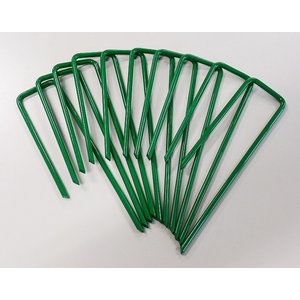 人工芝おさえピン グリーン 50本(10P×5袋入り) 57181 芝 ガーデン ガーデンターフ|gardenmate