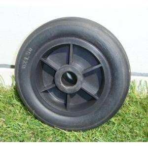 アルミカート・ハウスカー用 ノーパンク6インチタイヤ ブラック  55884|gardenmate