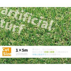 人工芝ロール 1×5m 〔20mm丈〕 57145 芝 ガーデン ガーデンターフ|gardenmate