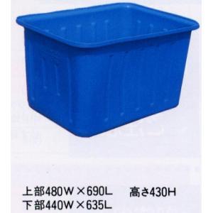 角型ポリ桶 K-130 56934 / 農業 ポリタンク|gardenmate