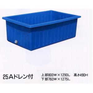 角型ポリ桶 K-400 56937 / 農業 ポリタンク|gardenmate
