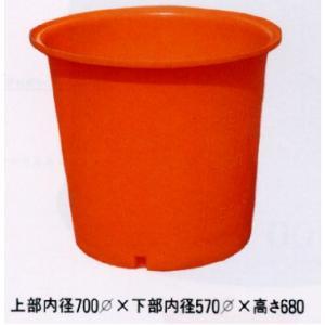 丸型ポリ桶 M-200 56940 / 農業 ポリタンク|gardenmate