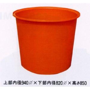 丸型ポリ桶 M-500 56942 / 農業 ポリタンク|gardenmate