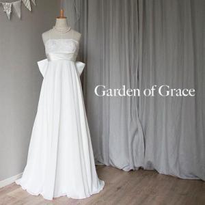 aae8dae109e34 ウエディングドレス 二次会 ウエディングドレス エンパイアライン ウェディングドレスエンパイア 花嫁|gardenofgrace ...