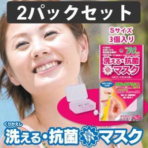 花粉99%以上カットの鼻に挿入するマスク くり返し洗える抗菌 マスクシェル Sサイズ 6個 (3個入り×2パック) (花粉対策鼻マスク) (CS-MSN-S02) gardens