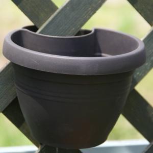【アウトレット】ドレーンパイプクリッカー・ハンギング 20cm (リビングブラック) (OUT-E014320-LVBK)|gardens
