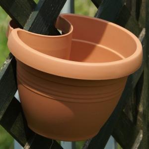 【アウトレット】ドレーンパイプクリッカー・ハンギング 20cm (マイルドテラコッタ) (OUT-E014320-MTC)|gardens