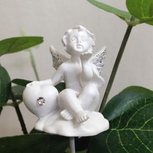 天国のペットの幸せを願う天使のエンジェル・ピック Sサイズ Aタイプ 25cm (Z-MAN-pi-a)|gardens
