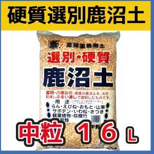 選別硬質鹿沼土(中粒) 16L  基本用土