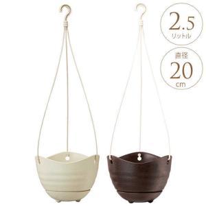 ハンギング プランター プラ鉢 釣り鉢 6号  プラスチック 吊り下げ 軽量 エアプランツ 軽い gardenyouhin