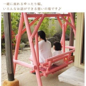 ブランコ 木製 屋外 木製ブランコ 白木 ブランコ 木製 屋外  |gardenyouhin|03