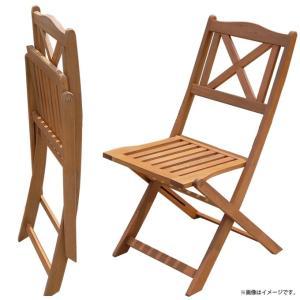 カフェ イベント テラス 業務用  木製折り畳みガーデンチェア 2脚セット|gardenyouhin|03