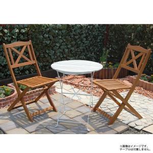 カフェ イベント テラス 業務用  木製折り畳みガーデンチェア 2脚セット|gardenyouhin|04