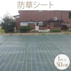 材質:ポリプロピレン  サイズ:1m×50m巻  備考:遮光率99.99%で雑草の育成を抑えます!反...