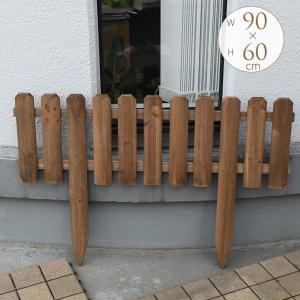 花壇 仕切り 柵 ウッド ガーデニング 木製花壇...の商品画像
