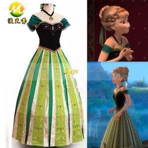 アナと雪の女王 アナ ドレス コスプレ衣装 gargamel-store