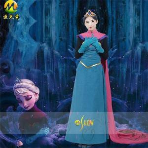アナと雪の女王 エルサ戴冠式 ドレス コスプレ衣装|gargamel-store