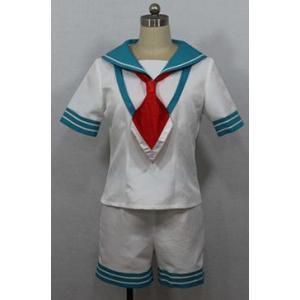 艦隊これくしょん 球磨 コスチューム パーティー イベント コスプレ衣装cc1160|gargamel-store