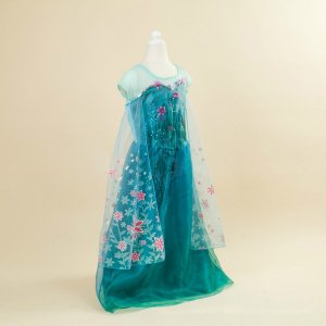 アナと雪の女王 エルサ アナ ドレス 子供 コスプレ衣装 gargamel-store