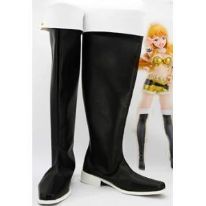コスプレ靴 アイドルマスター  星井美希(ほしい みき) コスプレブーツ オーダーサイズ製作可能m2023|gargamel-store