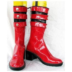 コスプレ靴 仮面ライダー電王  Naomi コスプレブーツ オーダーサイズ製作可能m368|gargamel-store