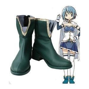 コスプレ靴  魔法少女まどか☆マギカ 美樹さやか コスプレブーツm1025|gargamel-store