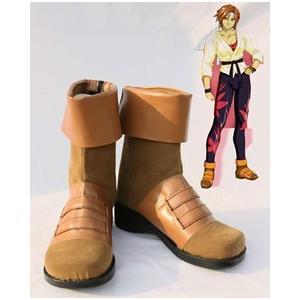 コスプレ靴  サクラ大戦 桐島カンナ  コスプレブーツ  オーダーサイズ製作可能|gargamel-store