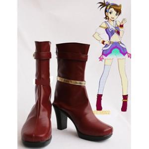 コスプレ靴 アイドルマスター   双海亜美 ふたみあみ  コスプレブーツ オーダーサイズ製作可能m1058|gargamel-store