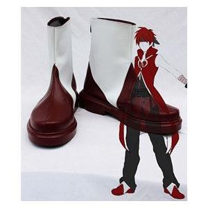 コスプレ靴  魔法少女まどか☆マギカ  佐倉杏子  コスプレブーツm1105|gargamel-store