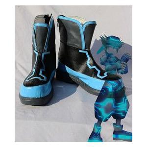 コスプレ靴   キングダムハーツ ソラ コスプレブーツm1107|gargamel-store