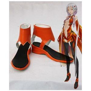 コスプレ靴  ギルティクラウン 楪いのり 金魚服ブーツm1145|gargamel-store