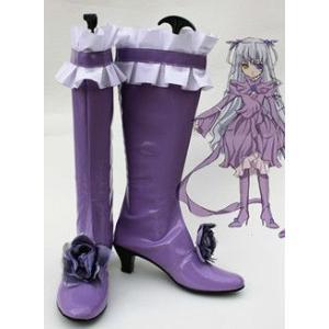 コスプレ靴   ローゼンメイデン 薔薇水晶 コスプレブーツm1328|gargamel-store