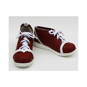 コスプレ靴  シャーマンキング 玉村 たまお コスプレブーツ オーダーサイズ製作可能|gargamel-store