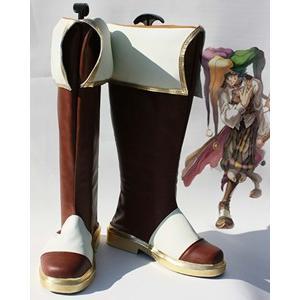コスプレ靴 ラグナロクオンライン Ragnarok Online  Bard  コスプレブーツ オーダーサイズ製作可能m1367|gargamel-store