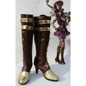コスプレ靴  League of Legends Caitlyn コスプレブーツm1395|gargamel-store