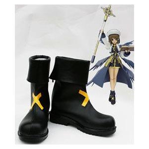 コスプレ靴  魔法少女リリカルなのは 八神はやて コスプレブーツm1428|gargamel-store