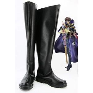 コスプレ靴   反逆のルルーシュ 枢木スザク コスプレブーツm1539|gargamel-store