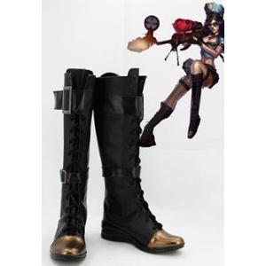 コスプレ靴  League of Legends Sheriff of Piltover Caitlyn コスプレブーツm1614|gargamel-store