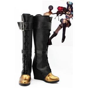 コスプレ靴  League of Legends Sheriff of Piltover Caitlyn コスプレブーツm1758|gargamel-store