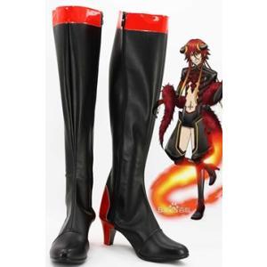 コスプレ靴 神々の悪戯 ロキ・レーヴァテイン コスプレブーツ オーダーサイズ製作可能m2070|gargamel-store
