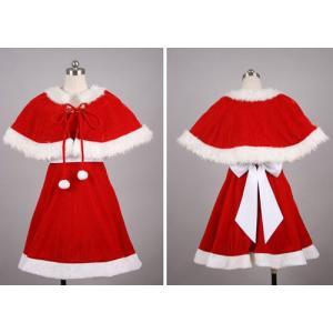 クリスマス衣装 サンタドレス 赤ver コスプレ衣装 gargamel-store