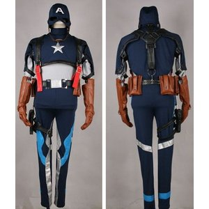映画 キャプテン アメリカ  Steven Rogers  コスチューム パーティー イベント コスプレ衣装 gargamel-store