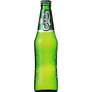 カールスバーグ クラブボトル 瓶 330ml×24本×1ケース(24本) 一部地域送料無料|garibar-shop