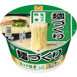 東洋水産 マルちゃん 麺づくり 旨コク豚骨 110g×12個 一部地域送料無料 garibar-shop