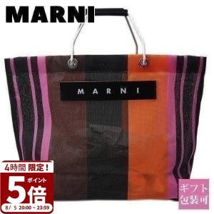 マルニ フラワー カフェ MARNI FLOWER CAFE バッグ レディース トートバッグ メッ...