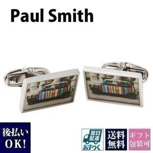 ポールスミス Paul Smith カフス メンズ カフリンクス ボタン ミニクーパー ANXA CUFF NPHOTO 1 父の日|garlandstore
