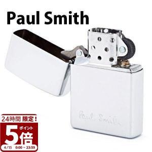 ポールスミス ジッポ ZIPPO ジッポー ライター オイルライター メンズ ロゴ シルバー 553-767-800 プレゼント 刻印 名入れ 父の日|garlandstore